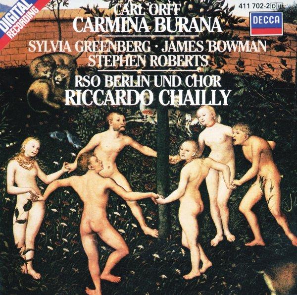 CARMINA BURANA CHAILLY