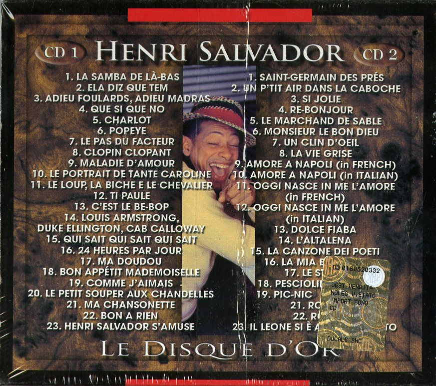 LE DISQUE D'OR - DOUBLE GOLD - 46 B