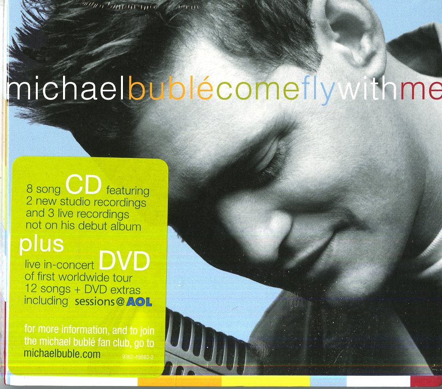 COME FLY WITH ME (CD+DVD)