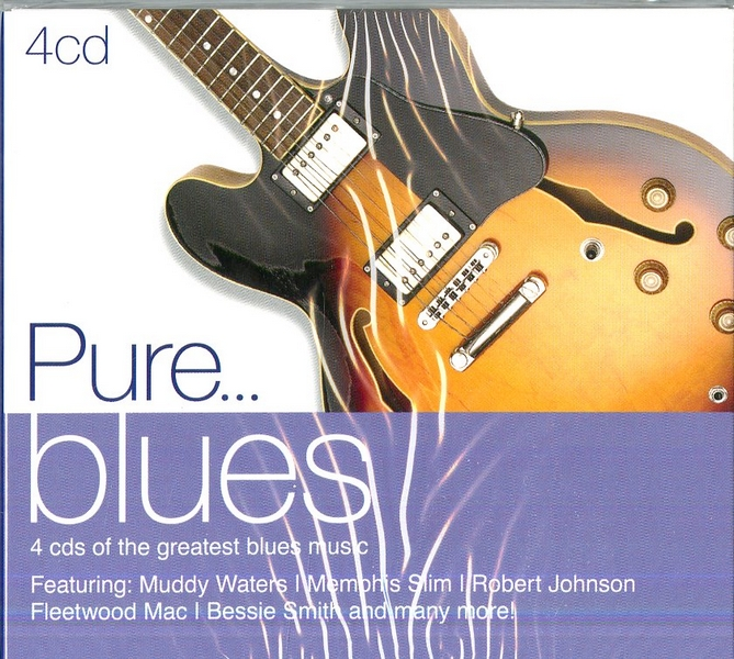 PURE...BLUES (BOX4CD)