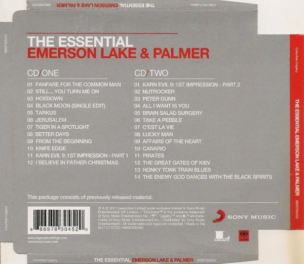 THE ESSENTIAL EMERSON LAKE & PALMER