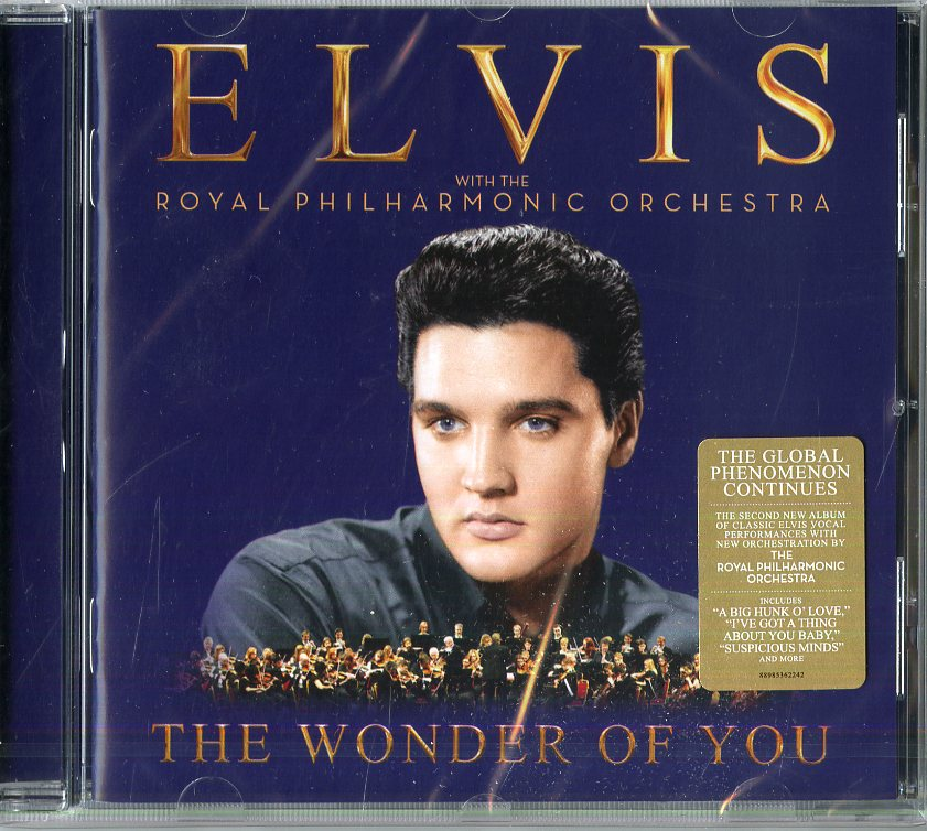 """THE WONDER OF YOU: ELVIS PRESLEY W"