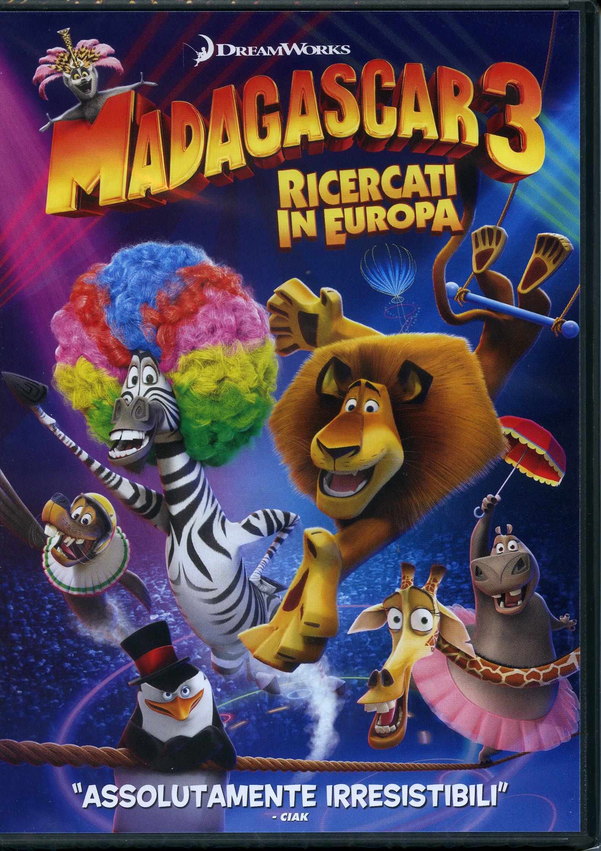 MADAGASCAR 3 RICERCATI IN EUROPA