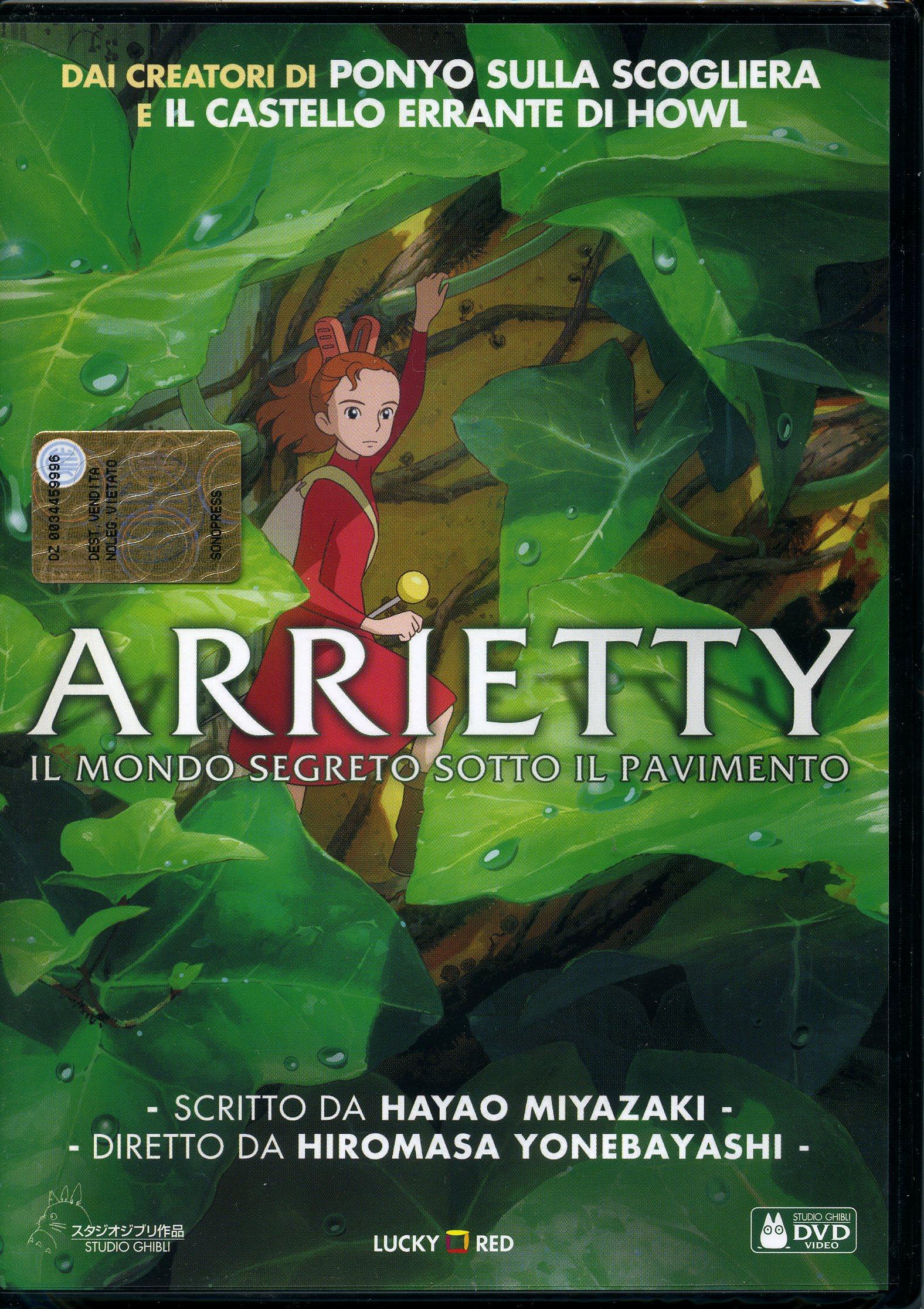 ARRIETTY IL MONDO SEGRETO SOTTO IL PAVIMENTO