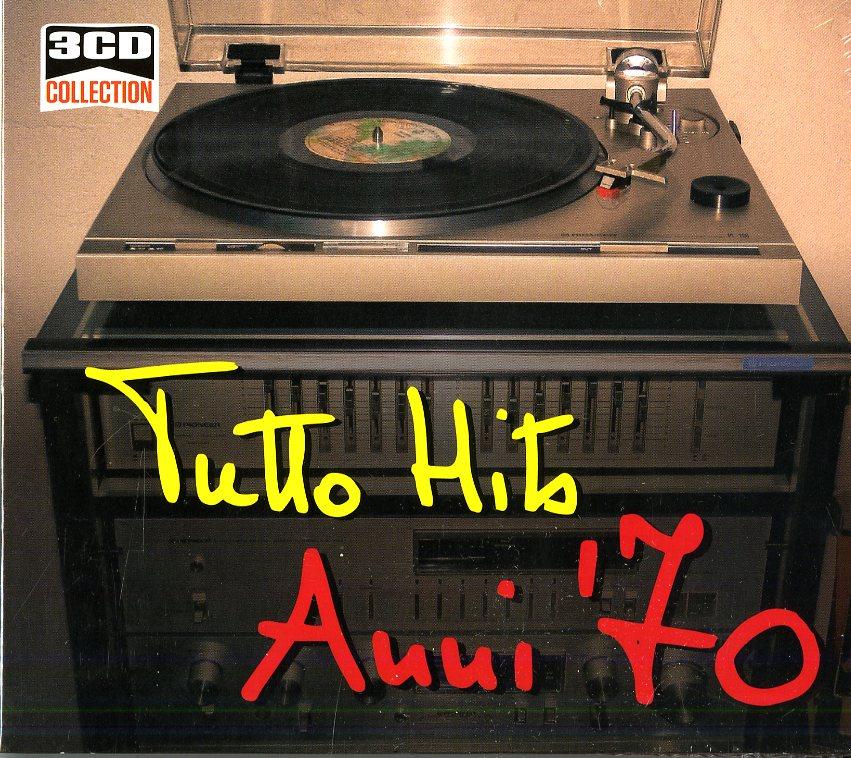 3CD COLLECTION: TUTTO HITS ANNI '70