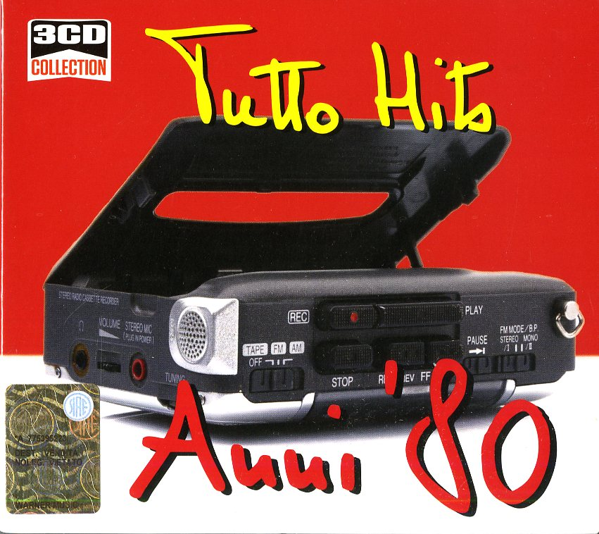 3CD COLLECTION: TUTTO HITS ANNI '80