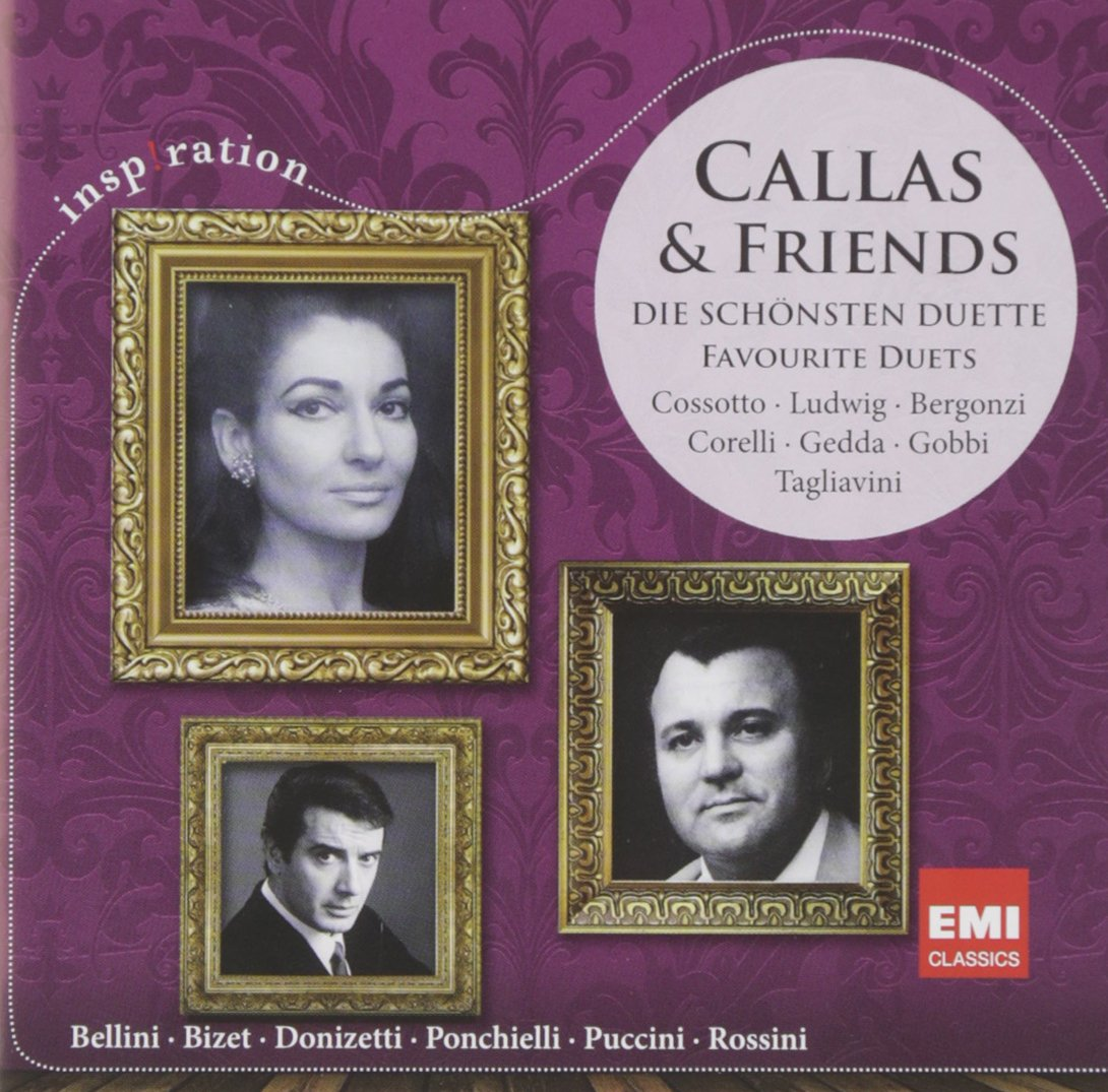 CALLAS & FRIENDS: GREAT DUETS (INSP