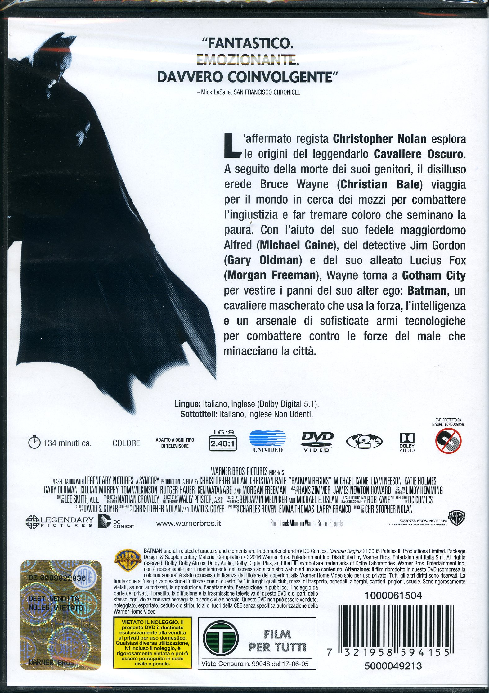 BATMAN BEGIN