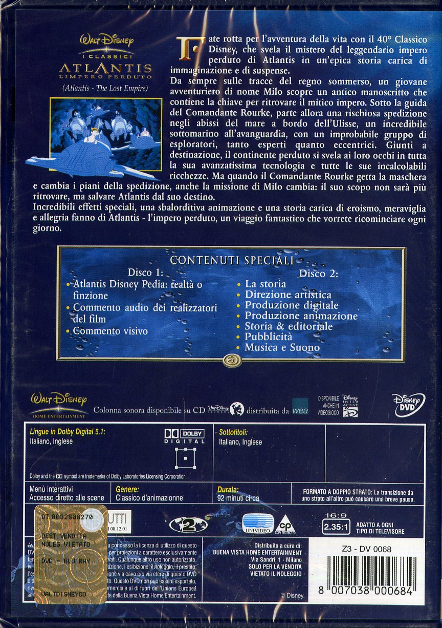 ATLANTIS-L'IMPERO PERDUTO