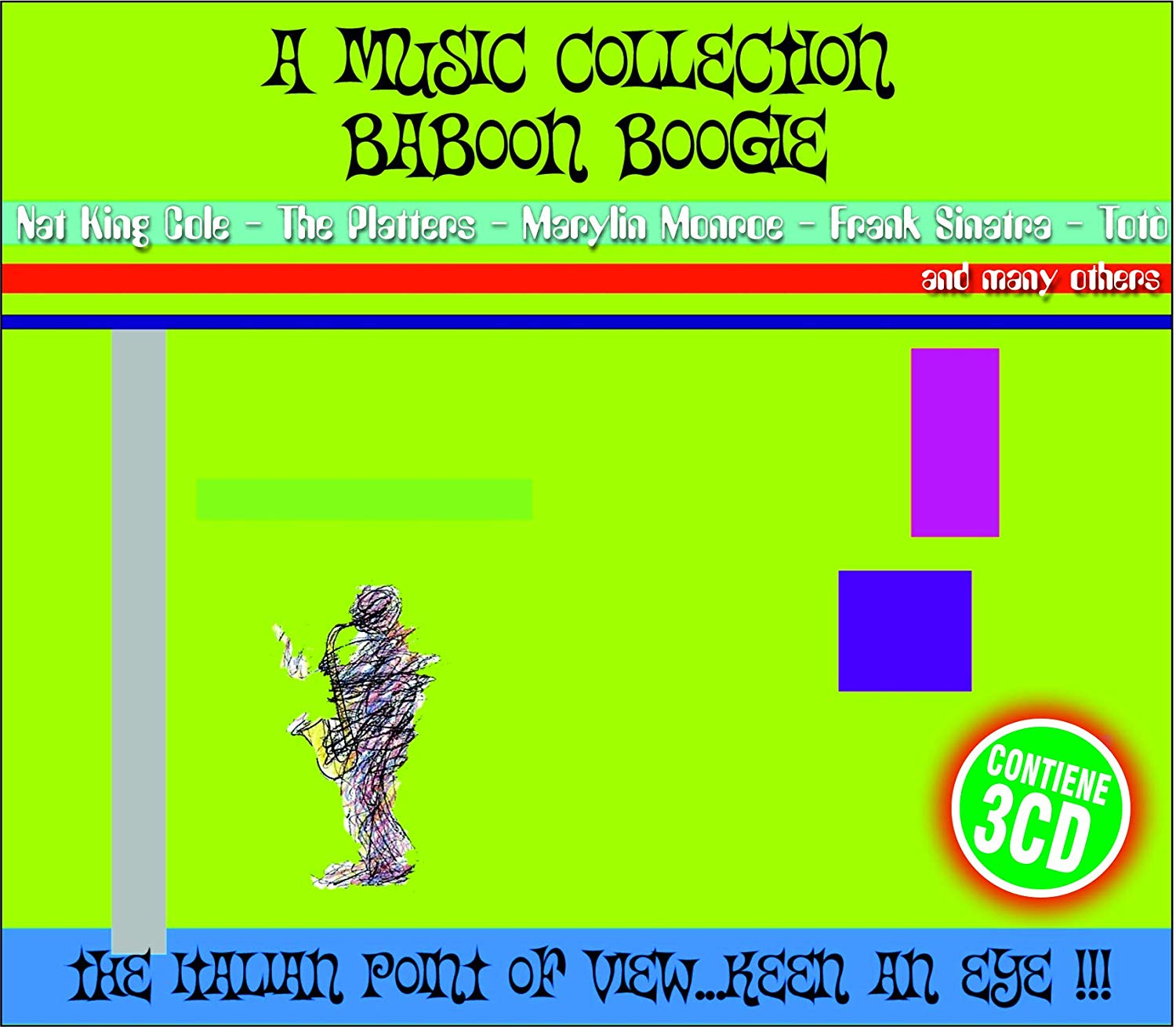 A MUSIC COLLECTION BABOON BOOGIE