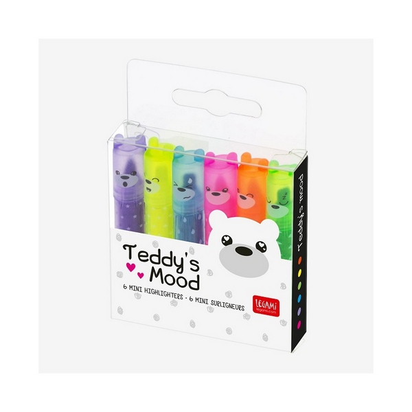 TEDDY'S MOOD - MINI SCENTED HIGHLIGHTERS